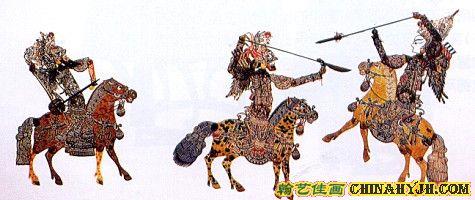 中国三大皮影戏的艺术特色