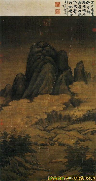 蒙古写意风景