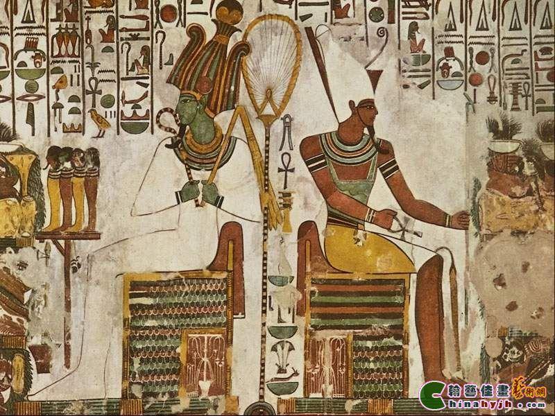 这就是举世闻名的埃及金字塔的由来.